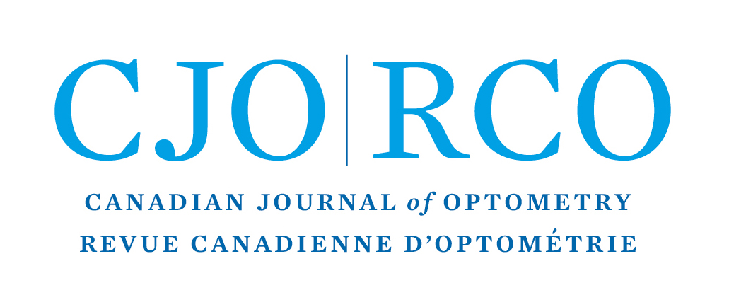 The letters CJO & RJO and full name of Journal in English and French